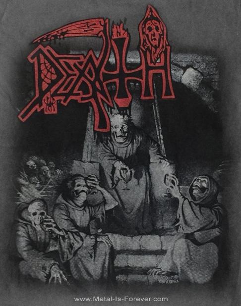 DEATH -デス- SCREAM BLOODY GORE 「スクリーム・ブラッディ・ゴア」 Tシャツ(ヴィンテージ・ウオッシュ)
