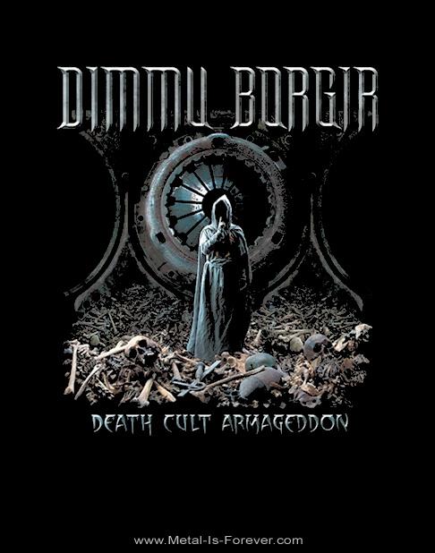 DIMMU BORGIR -ディム・ボルギル- DEATH CULT ARMAGEDDON 「デス・カルト・アルマゲドン〜最終戦争賛歌」 Tシャツ