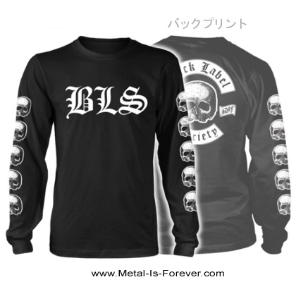 BLACK LABEL SOCIETY -ブラック・レーベル・ソサイアティ- SKULL LOGO 「スカル・ロゴ」 長袖Tシャツ
