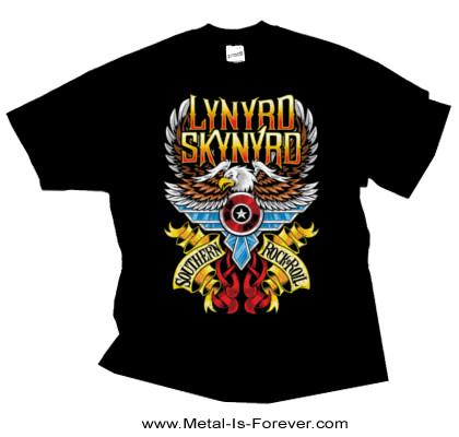 LYNYRD SKYNYRD (レーナード・スキナード) SOUTHERN ROCK & ROLL 「サザン・ロックンロール」 Tシャツ