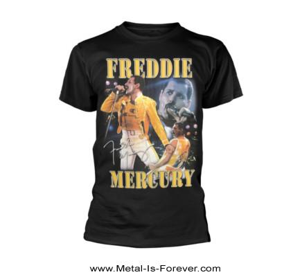 FREDDIE MERCURY (フレディ・マーキュリー) HOMAGE 「オマージュ -フレディに捧ぐ-」 Tシャツ