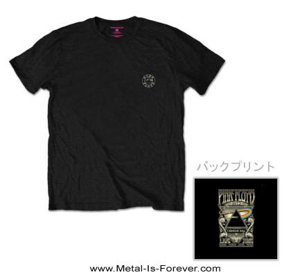 PINK FLOYD (ピンク・フロイド) LIVE AT CARNEGIE HALL POSTER 1972 「ライヴ・アット・カーネギー・ホール・ポスター・1972」 Tシャツ Ver.2
