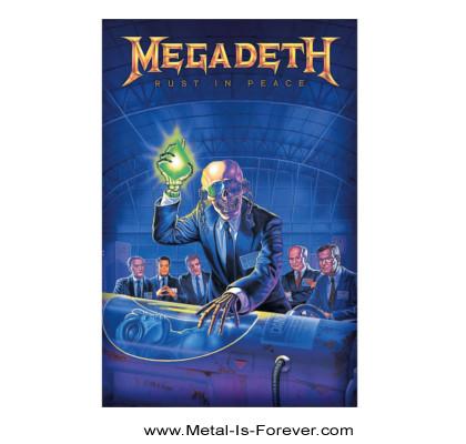 MEGADETH (メガデス) RUST IN PEACE 「ラスト・イン・ピース」 布製ポスター