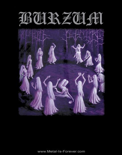 BURZUM (バーズム) WITCHES DANCING 「ウィッチ・ダンシング」 Tシャツ