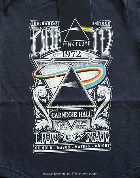 PINK FLOYD (ピンク・フロイド) LIVE AT CARNEGIE HALL POSTER 1972 「ライヴ・アット・カーネギー・ホール・ポスター・1972」 ベビー服