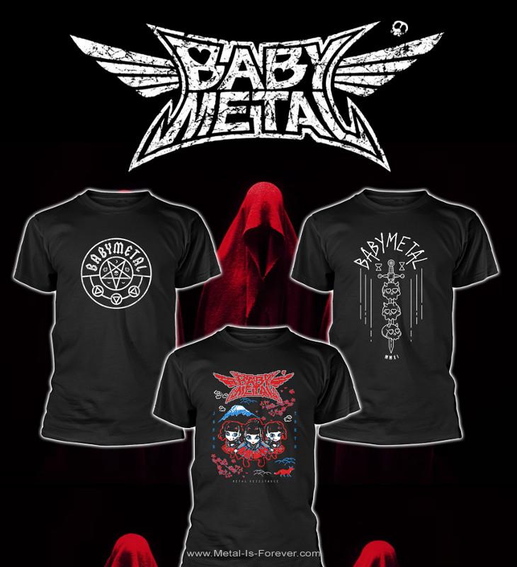 BABYMETAL -ベビーメタル-  Tシャツ 3枚スペシャルセット