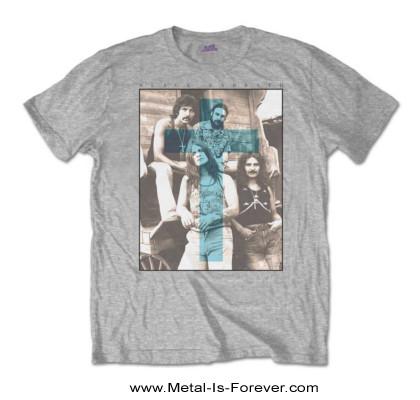 BLACK SABBATH -ブラック・サバス- BLUE CROSS 「ブルー・クロス」 Tシャツ(グレー)