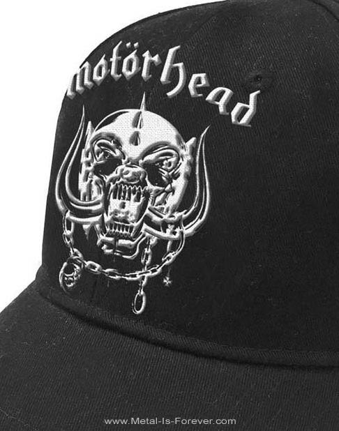 MOTORHEAD -モーターヘッド- WAR PIG 「ウォーピッグ」 ベースボールキャップ
