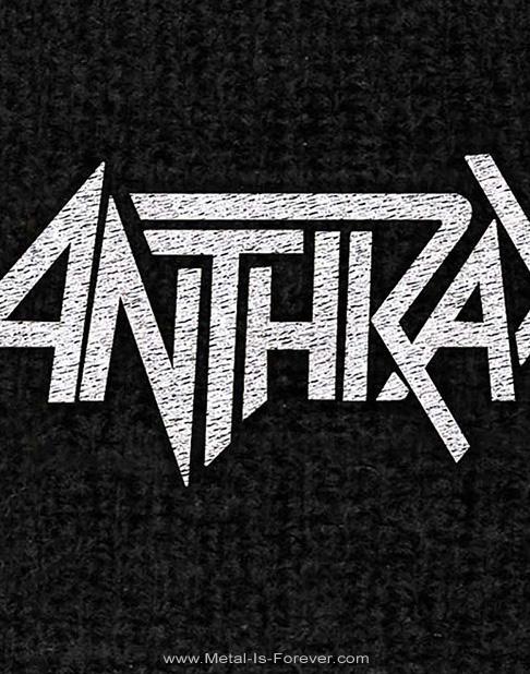 ANTHRAX -アンスラックス- LOGO 「ロゴ」 リストバンド