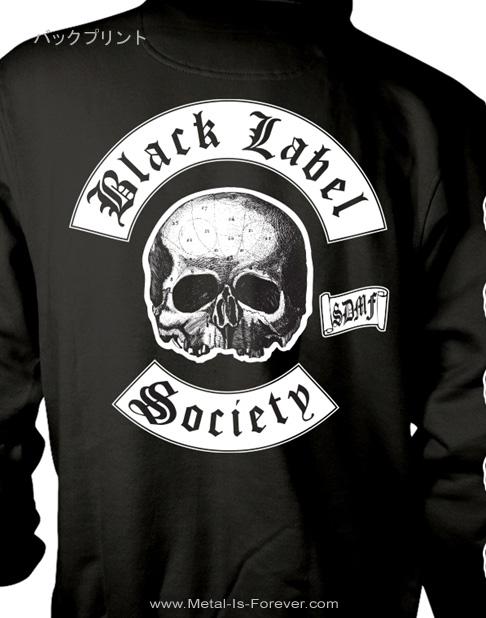 BLACK LABEL SOCIETY -ブラック・レーベル・ソサイアティ- SKULL LOGO 「スカル・ロゴ」 パーカー