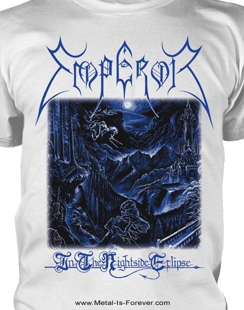 EMPEROR -エンペラー- IN THE NIGHTSIDE ECLIPSE 「闇の皇帝」 Tシャツ(白)