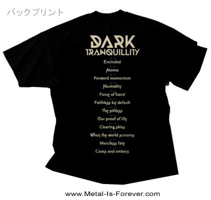 DARK TRANQUILLITY (ダーク・トランキュリティー) ATOMA 「アトマ」 Tシャツ