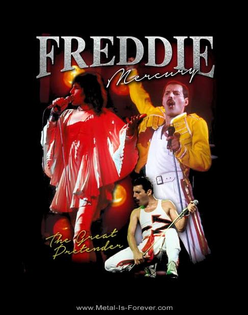 FREDDIE MERCURY (フレディ・マーキュリー) GREAT PRETENDER HOMAGE 「グレート・プリテンダーオマージュ」 Tシャツ