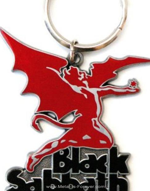 BLACK SABBATH (ブラック・サバス) DAEMON 「デーモン」 キーチェーン