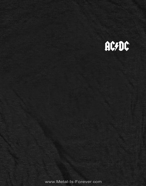 AC/DC -エーシー・ディーシー- AC/DC -エーシー・ディーシー- FOR THOSE ABOUT TO ROCK 「悪魔の招待状」 Tシャツ(バックプリント)