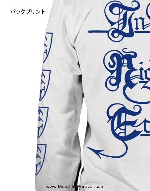 EMPEROR -エンペラー- IN THE NIGHTSIDE ECLIPSE 「闇の皇帝」 長袖Tシャツ(白)