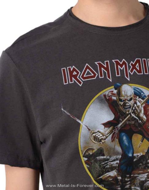 IRON MAIDEN -アイアン・メイデン- THE TROOPER 「明日なき戦い」 Amplified Tシャツ