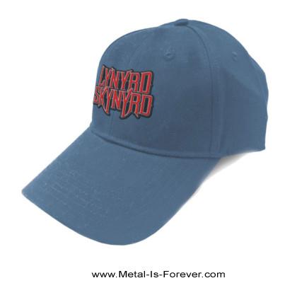 LYNYRD SKYNYRD (レーナード・スキナード) LOGO 「ロゴ」 ベースボール・キャップ (デニム・ブルー)