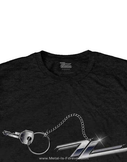 ZZ TOP (ズィーズィー・トップ) HOT ROD KEYCHAIN 「ホットロッド・キーチェーン」 Tシャツ
