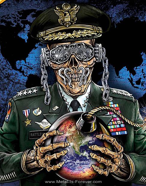 MEGADETH (メガデス) SYMPHONY OF DESTRUCTION 「狂乱のシンフォニー」 布製ポスター