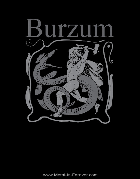 BURZUM (バーズム) SERPENT SLAYER 「サーペント・スレイヤー」 Tシャツ