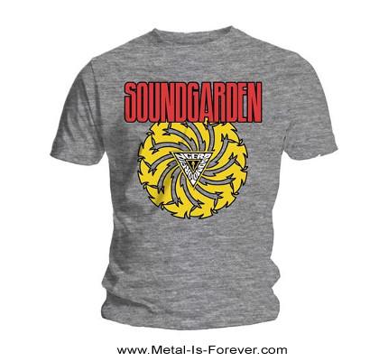 SOUNDGARDEN (サウンドガーデン) BADMOTORFINGER 「バッドモーターフィンガー」 Tシャツ(グレー)