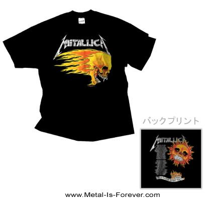 METALLICA (メタリカ) FLAMING SKULL TOUR '94 「フレイミング・スカル 1994年ツアー」 Tシャツ