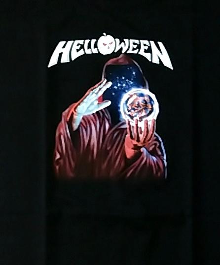 【在庫有り商品】HELLOWEEN -ハロウィン- KEEPER OF THE SEVEN KEYS PART1 「守護神伝 〜第一章〜」 レディースTシャツ Sサイズ【コレクターズアイテム】