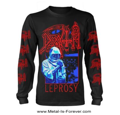 DEATH -デス- LEPROSY 「レプロシー」 長袖Tシャツ(ヴィンテージ・ウォッシュ)