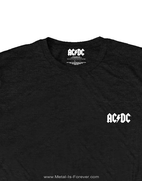 AC/DC -エーシー・ディーシー- BLACK ICE 「悪魔の氷」  Tシャツ(バックプリント)