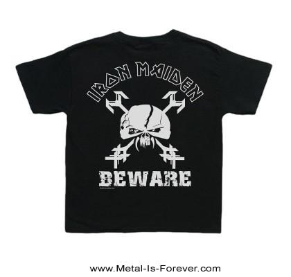 IRON MAIDEN (アイアン・メイデン) BEWARE 「ビーウェア」 キッズ Tシャツ