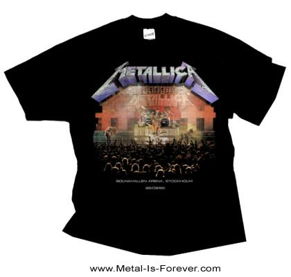 METALLICA -メタリカ- STOCKHOLM 86 「ストックホルム・86」 Tシャツ