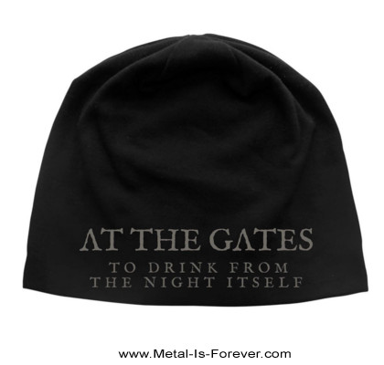 AT THE GATES -アット・ザ・ゲイツ- DRINK FROM THE NIGHT ITSELF 「ナイト・イット・フロム・ザ・ナイト・イットセルフ」 ニットキャップ(薄手)