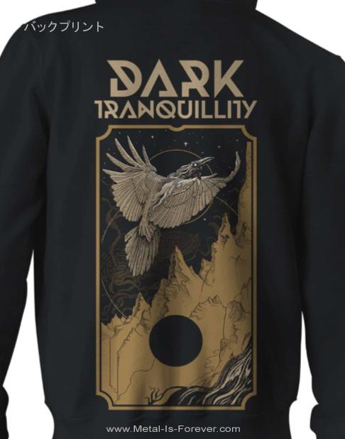 DARK TRANQUILLITY (ダーク・トランキュリティー) RAVEN 「レイヴン」 ジップ・パーカー