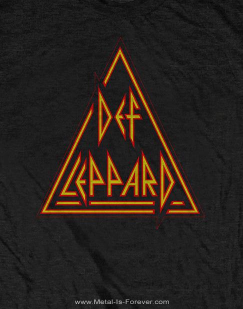 DEF LEPPARD (デフ・レパード) CLASSIC TRIANGLE 「クラシック・トライアングル」 Tシャツ