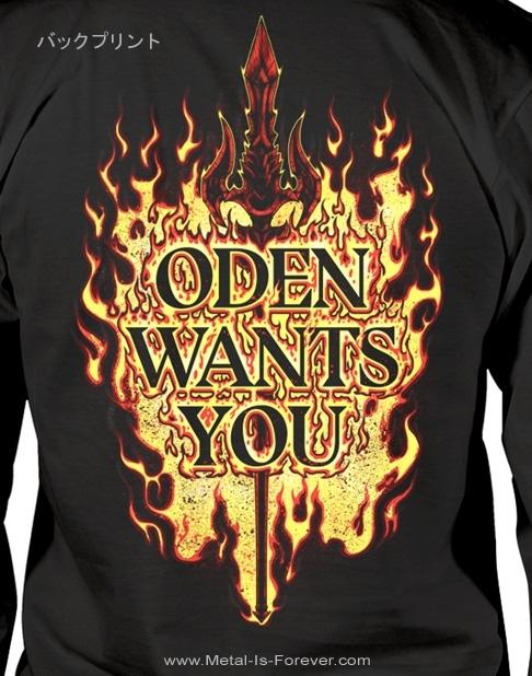 AMON AMARTH (アモン・アマース) ODEN WANTS YOU 「オーディン・ウォンツ・ユー」 長袖Tシャツ