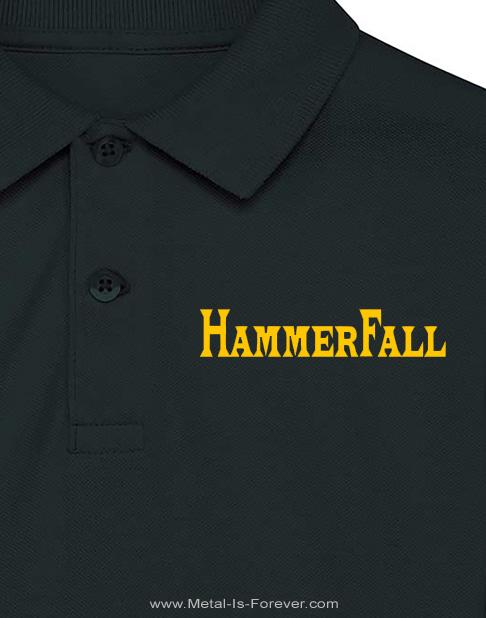 HAMMERFALL (ハンマーフォール) HAMMER WINGS 「ハンマー・ウイングス」 ポロシャツ