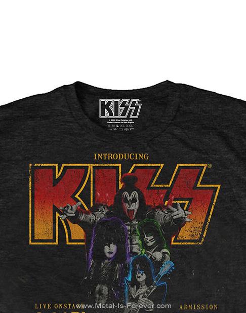 KISS (キッス) COBRA ARENA '76 「コブラ・アリーナ '76」 エコTシャツ