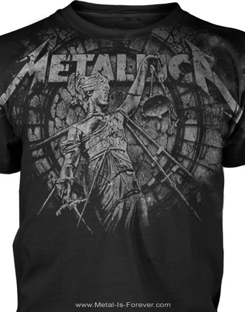 METALLICA (メタリカ) STONED JUSTICE 「ストーン・ジャスティス」 オールオーバーTシャツ