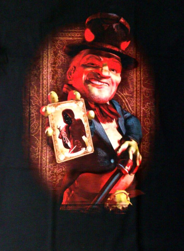【在庫有り商品】HELLOWEEN -ハロウィン- GAMBLING WITH DEVIL 「ギャンブリング・ウィズ・ザ・デヴィル」 Tシャツ Mサイズ【コレクターズアイテム】