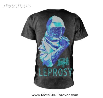 DEATH -デス- LEPROSY 「レプロシー」  Tシャツ(ヴィンテージ・ウォッシュ)