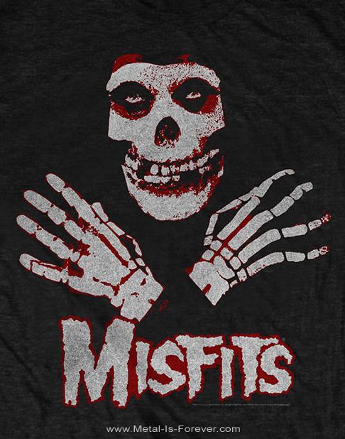 MISFITS (ミスフィッツ) HANDS SKULL 「ハンズ・スカル」 キッズ Tシャツ