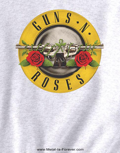 GUNS N' ROSES (ガンズ・アンド・ローゼズ) CLASSIC LOGO 「クラシック・ロゴ」 スウェット(白)