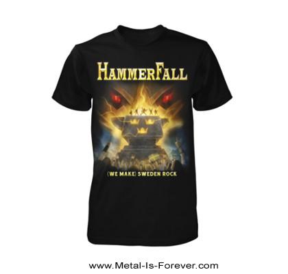 HAMMERFALL (ハンマーフォール) SWEDEN ROCK NORTHERN LIGHTS 「スウェーデン・ロック・ノーザン・ライト」 Tシャツ