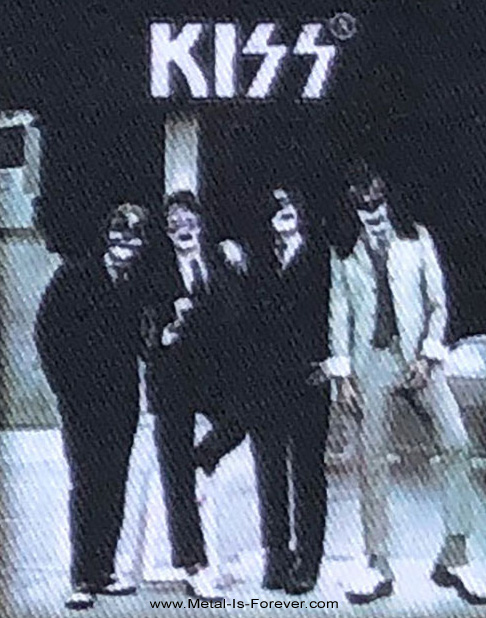 KISS (キッス) DRESSED TO KILL 「地獄への接吻」 アイロン・ワッペン