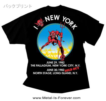 IRON MAIDEN (アイアン・メイデン) THE BEAST IN NEW YORK 「ザ・ビースト・イン・ニューヨーク」 1982年ツアー Tシャツ