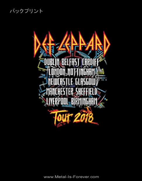 DEF LEPPARD -デフ・レパード- 2018 TOUR PHOTO 「2018年ツアー・フォト」 Tシャツ