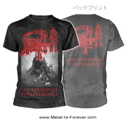 DEATH -デス- THE SOUND OF PERSEVERANCE 「ザ・サウンド・オブ・パーサヴィランス」 Tシャツ(ヴィンテージ・ウォッシュ)