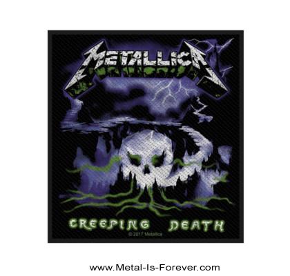 METALLICA (メタリカ) CREEPING DEATH 「クリーピング・デス」 ワッペン