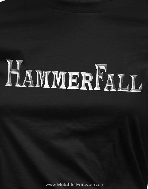 HAMMERFALL (ハンマーフォール) LOGO 「ロゴ」 レディースTシャツ